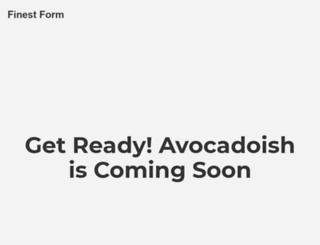 avocadoish.com screenshot