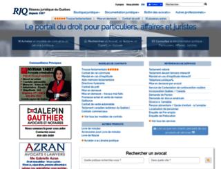 avocat.qc.ca screenshot