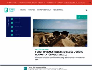 avocatparis.org screenshot