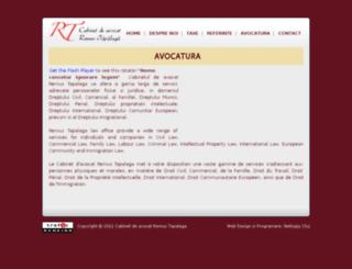 avocaturaemigrare.ro screenshot