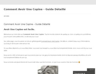 avoirunecopine.wordpress.com screenshot
