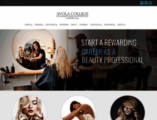 avolacollege.com screenshot