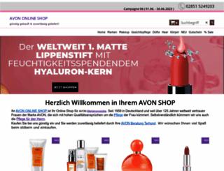 avon-beratung-terhorst.de screenshot