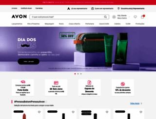avon.com.br screenshot