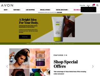 avon.com screenshot