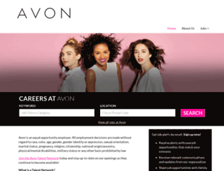 avon.jobs.net screenshot
