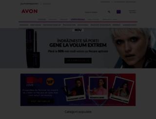 avon.ro screenshot