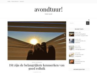 avondtuur.nl screenshot