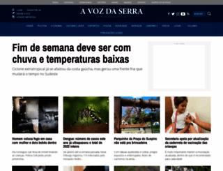 avozdaserra.com.br screenshot
