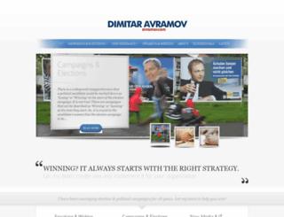 avramov.com screenshot