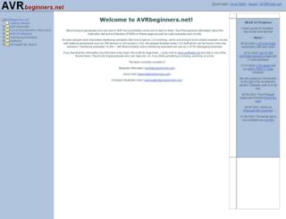 avrbeginners.net screenshot