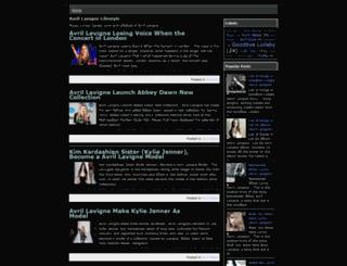 avrillavignelifestyle.blogspot.com screenshot