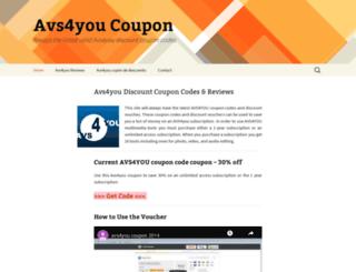 avs4you-coupon.com screenshot