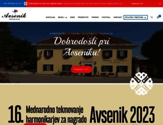 avsenik.com screenshot