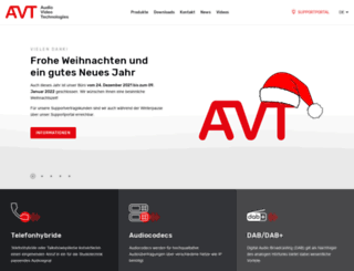 avt-nbg.de screenshot