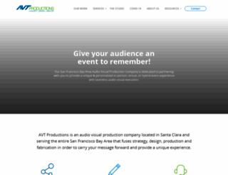 avtproductions.com screenshot