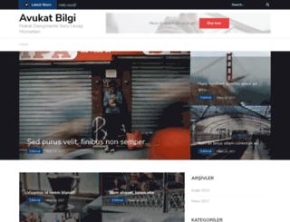 avukatbilgi.com screenshot