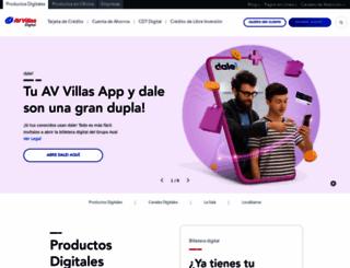 avvillas.com.co screenshot