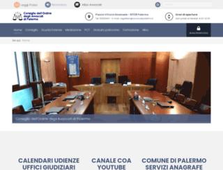avvocatipalermo.it screenshot