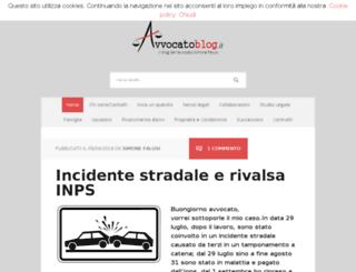 avvocatoblog.wordpress.com screenshot