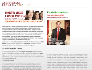 avvocatodiroma.com screenshot