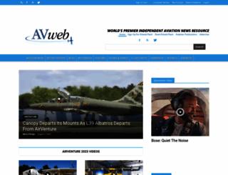 avweb.com screenshot