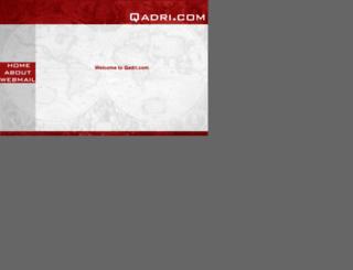 awais.qadri.com screenshot