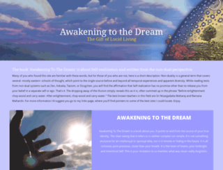 awakeningtothedream.com screenshot