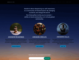 awakin.org screenshot
