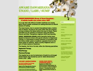 awamiindia.com screenshot