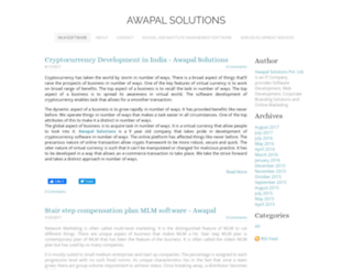 awapalsolutions.weebly.com screenshot