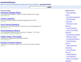 awardmarketing.in screenshot
