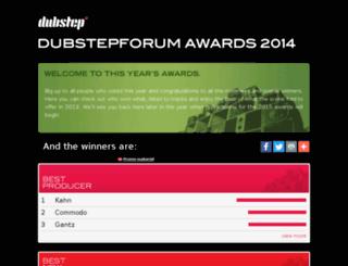 awards.dubstepforum.com screenshot
