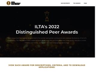 awards.iltanet.org screenshot