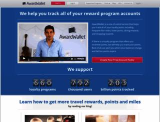 awardwallet.com screenshot