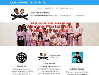 awardwinningchildrenskarate.com screenshot