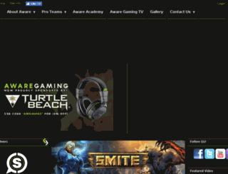 awaregaming.com screenshot