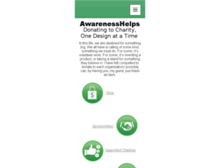 awarenesshelps.org screenshot
