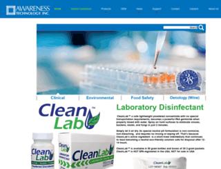 awarenesstechnology.com screenshot