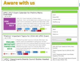awarewithus.com screenshot