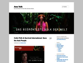 awavolk.org screenshot