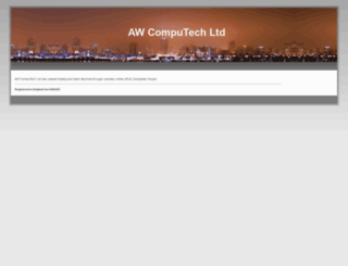 awcomputech.com screenshot