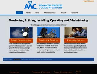 awctelecom.com screenshot