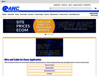 awcwire.com screenshot
