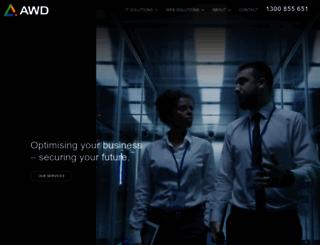 awd.com.au screenshot
