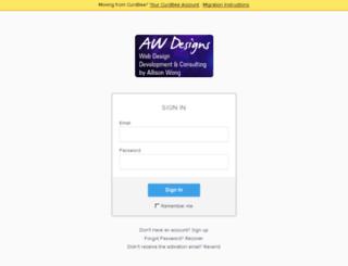 awdesigns.hiveage.com screenshot