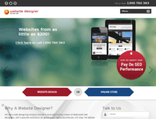 awebsitedesigner.com.au screenshot