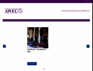 awec.info screenshot