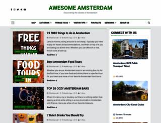 awesomeamsterdam.com screenshot