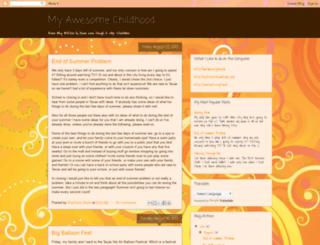 awesomechildhood.blogspot.com screenshot